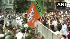 West Bengal: BJP Workers Protest Near KMC Office, Demand 'Dengue Free' Kolkata