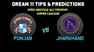 Dream11 Team Prediction Punjab vs Jharkhand : Captain And Vice Captain For Today Super League, C2 vs E2, Syed Mushtaq Ali Trophy 2019 Between PUN vs JHA at  CB Patel International Cricket Stadium in Surat 1:30 PM IST November 21