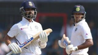1st Test: Agarwal And Rahane Put India Ahead After Kohli's Rare Duck