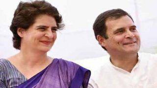अयोध्या फैसले का सम्मान करते हुए राहुल गांधी, प्रियंका वाड्रा ने दिया ये बयान