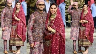 Ranveer Singh And Deepika Padukone Look so Happy in New Photos From Airport That You Only Wish More Love For Them