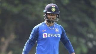India vs Australia 2020: Rishabh Pant Ruled Out of 2nd ODI Against Australia in Rajkot