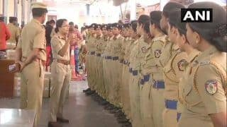 Sabarimala: Security Beefed up in Kerala Ahead of Opening of Hill Shrine Today