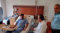 मुंबई के लीलावती अस्पताल में भर्ती संजय राउत से मिलने पहुंचे ये बीजेपी नेता