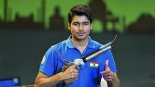 Saurabh Chaudhary Wins 10m Air Pistol Gold in 63rd National Shooting Championship