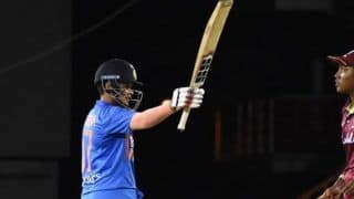 Shafali Verma Becomes Youngest Indian to Hit An International Half-Century
