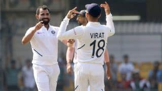 1st Test: Shami, Ashwin Rattle Bangladesh Despite 'Butter-Fingered' Rahane