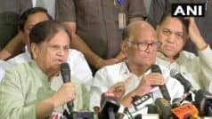 We Condemn President   s Rule in Maharashtra,    Says Ahmed Patel After Congress-NCP Meet