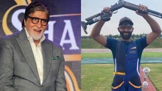 Amitabh Bachchan 'Proud' of Classmate's Grandson Angad Vir Singh Bajwa For Booking Tokyo Olympics Berth in Shooting