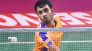 Sourabh Verma Climbs up to Career-High 29th Spot in BWF Rankings