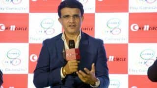 BCCI President Sourav Ganguly Courts Controversy After Promoting Fantasy Sport Website