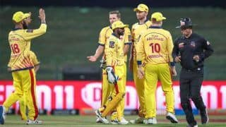 DEG vs TAB Dream11 Team Prediction Abu Dhabi T10 League 2019: Captain And Vice-Captain, Fantasy Cricket Tips Deccan Gladiators vs Team Abu Dhabi Match 18 at Sheikh Zayed Stadium, Abu Dhabi 9:30 PM IST