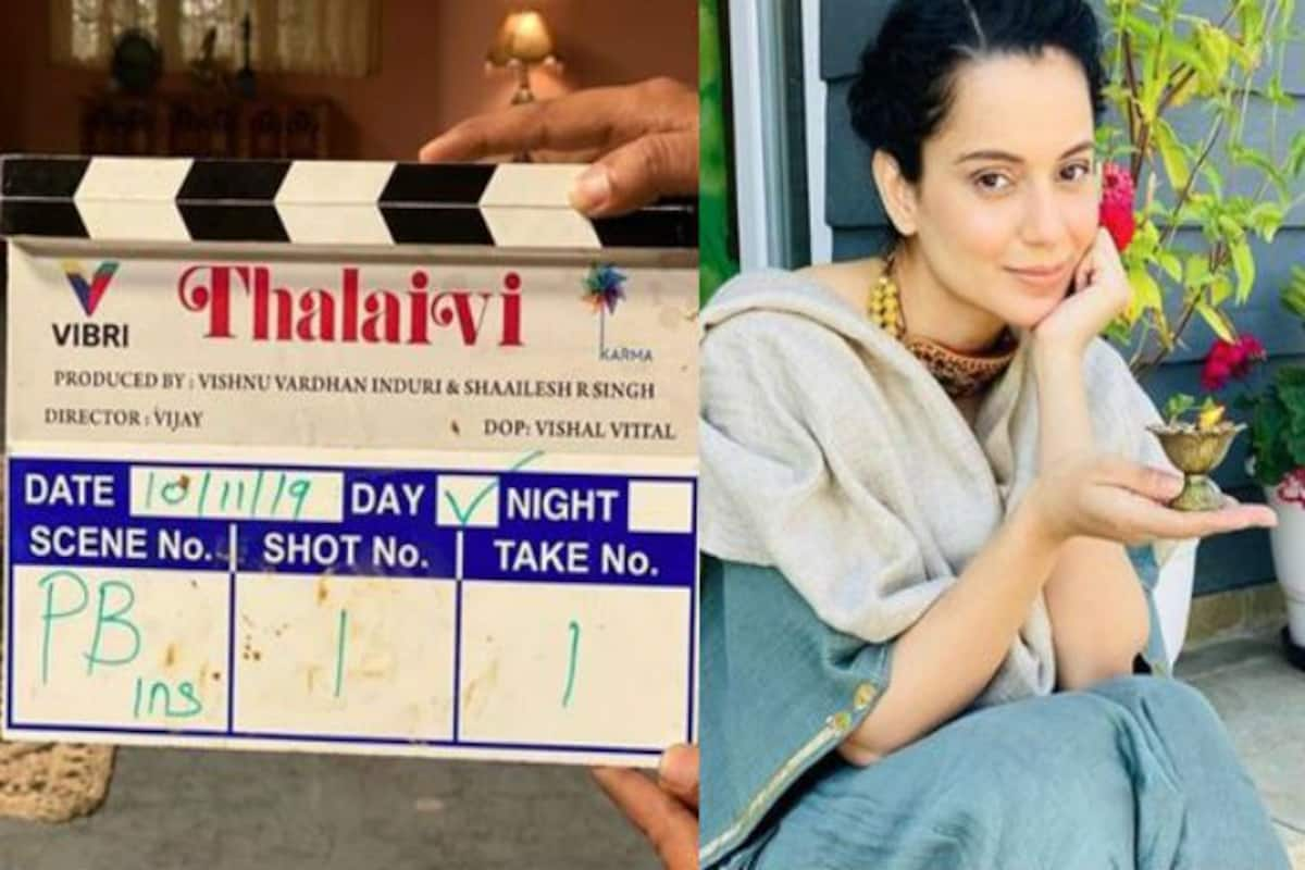 Kangana Ranaut Starts Shooting For Jayalalithaa Biopic