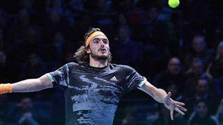 Stefanos Tsitsipas Beats Daniil Medvedev to Clinch 1st Win at ATP World Tour Finals