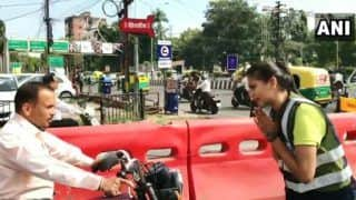 This MBA Student Dances Her Way to Manage Road Traffic in Indore | Watch