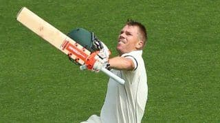 Australia vs pakistan 1st test david warner scores century after getting out of naseem shahs no ball