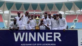 Only Test: West Indies Crush Afghanistan by 9 Wickets in Lucknow