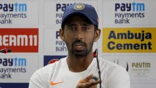Normal Fracture, Shouldn't Take More Than Five Weeks to Recover: Wriddhiman Saha on Finger Injury