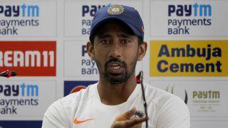 India vs Australia 2020: Wriddhiman Saha Returns to Team India's Training Session
