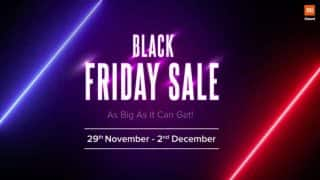 Xiaomi Black Friday Sale to take place between November 29 and December 2