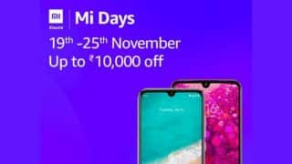 Xiaomi Mi Days sale on Amazon India: Discounts on Poco F1, Redmi Y3, Redmi 7, Mi A3 and more