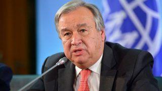 'Disappointed' by UN Climate Summit Result, Says UN Chief Antonio Guterres