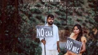 This Kerala Couple's Unique Pre-Wedding Shoot Against CAA and NRC is Going Viral