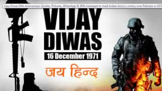 48th Anniversary: As the Nation Celebrates Vijay Diwas Today, PM Modi Salutes 1971 War Martyrs