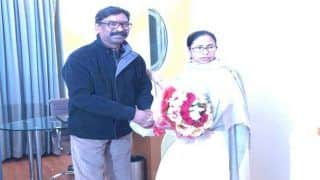 Mamata Banerjee Meets Jharkhand CM-designate Hemant Soren Ahead of His Swearing-in Ceremony | See Photos