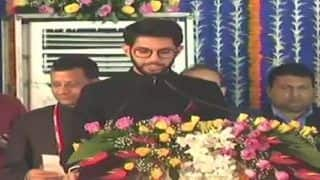'No Absence of Trust Among Sena-NCP-Congress', Aaditya Thackeray's First Remarks After Taking Oath as Minister