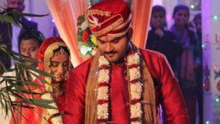 Bhojpuri Hottie Akshara Singh And Arvind Akela Kallu's Wedding Pictures go Viral, Know The Truth Here
