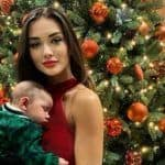 Amy Jackson Shares Adorable Picture With Her Little Munchkin Andreas, Wishes Him His First Christmas