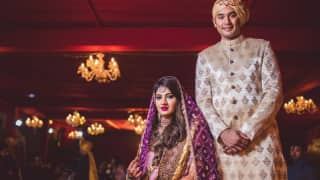 Sania Mirza's Sister Anam Gets Married to Mohammad Azharuddin's Son Asad, See Pictures