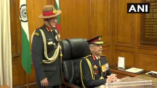 Lieutenant General Manoj Mukund Naravane Takes Charge as 28th Chief of Army Staff