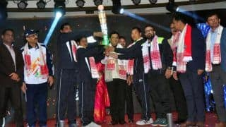 Torch Relay of Khelo India Youth Games Launched in Guwahati