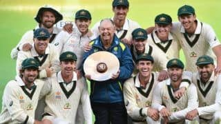 Aus vs pak australia win adelaide test by innings and 48 runs clean sweep series 2 0