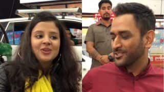 Watch ms dhoni makes fun of wife sakshi in a throwback video on instagram 3880398