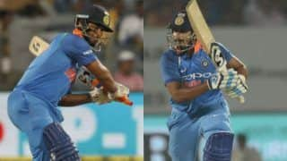 India vs west indies 2nd odi shreyas iyer rishabh pant records most runs off an over in odis 3882072