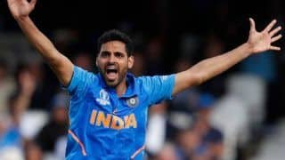 Ind vs wi bhuvneshwar kumar ruled out of odi series shardul thakur may fill the space 3877298