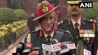 जनरल बिपिन रावत ने दिया बयान, बोले- किसी भी चुनौती से निपटने के लिए भारतीय सेना तैयार