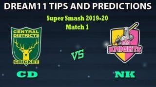 CD vs NK Dream11 Team Prediction Qatar T10 League: Captain And Vice-Captain, Fantasy Cricket Tips Central Districts vs Northern Knights Match 1 at McLean Park, Napier 11:40 AM IST