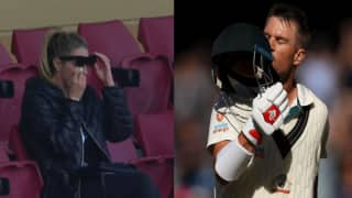 Candice Warner in Tears After Husband Slams Record Triple in Adelaide