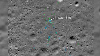 Chandrayaan 2: NASA को मिला चांद की सतह पर विक्रम लैंडर, ट्वीट की तस्वीरें