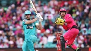 Big bash league 2019 20 chris lynn scores 94 smashing a remarkable 11 sixes 3886004