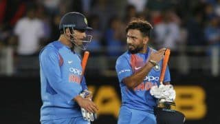 Sourav ganguly on dhoni dhoni chants if i were virat kohli i would let rishabh pant go through it