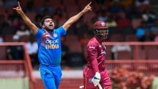 India vs west indies cuttak odi deepak chahar ruled out of 3rd odi due to injury navdeep saini replace him 3882939