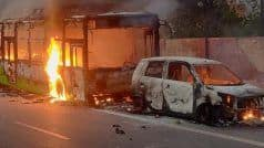 नागरिकता कानून का विरोध: दक्षिण दिल्ली में हिंसा, प्रदर्शनकारियों ने बसों को जलाया