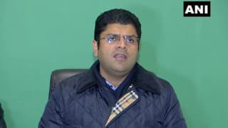 JJP Chief Dushyant Chautala Denies Receiving Resignation From Party's Vice President, Says Will Discuss The Matter