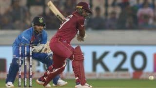 India vs west indies 1st t20 evin lewis becomes 1st batsman to hits most sixes in t20i against india surpasses glenn maxwell record