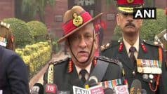 CDS Bipin Rawat Expresses Confidence in Armed Forces, Says    Prepared to Tackle Any Situation From Pakistan'